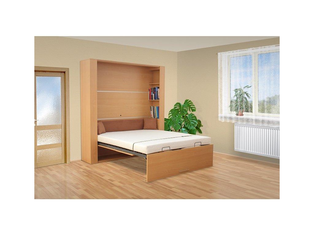 Sklápacie výklopná posteľ VS 3070 otvorená