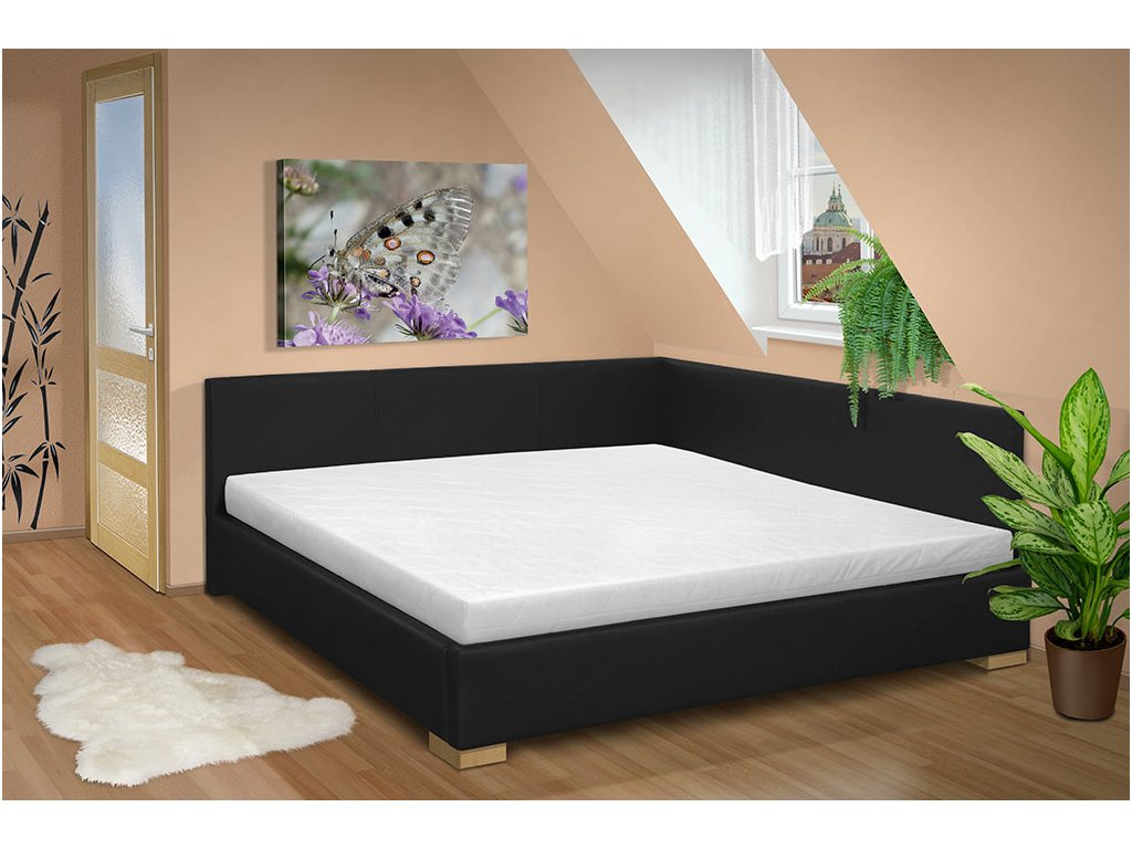 Manželská posteľ s čelami Martina 180x200 cm