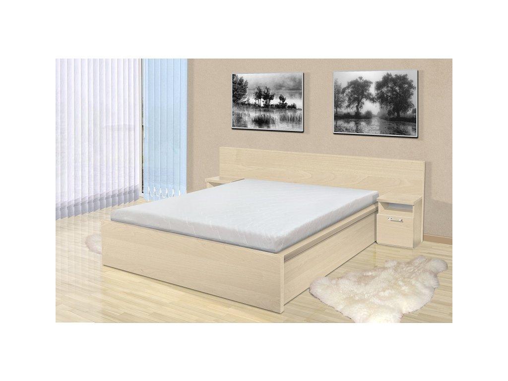 Manželská posteľ s matracom a roštom Simon 180
