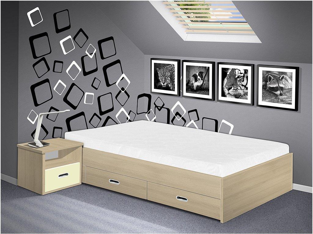 posteľ s úložným priestorom Renata 160x200 cm