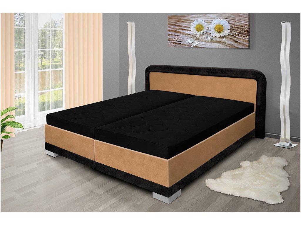 Manželská posteľ s úložným priestorom Jaro 200x180 cm béžová