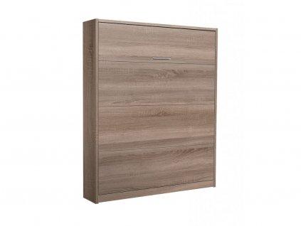 45/5000 Sklápacie výklopná posteľ VS 3054 - 200x140 cm orech lyon