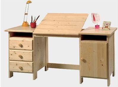 Psací stoly a židle