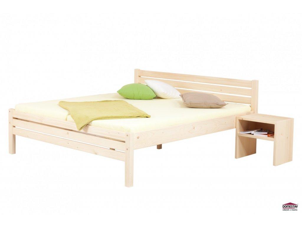 manzelska postel karla senior 180 cm smrk