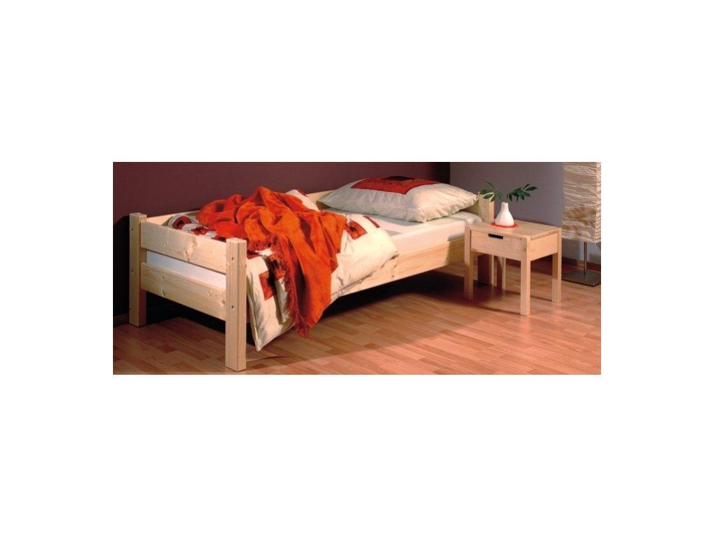 gazel sendy postel 90x220 prirodni prodlouzena original[1]