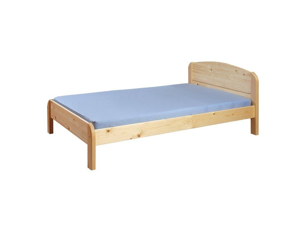 Gazel BERGHEN dřevěná postel N 90 přírodní