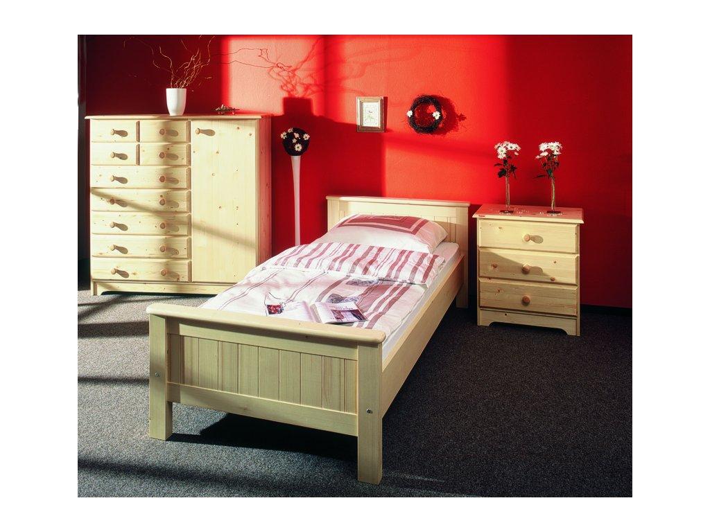 Gazel ANNY postel 90 přírodní