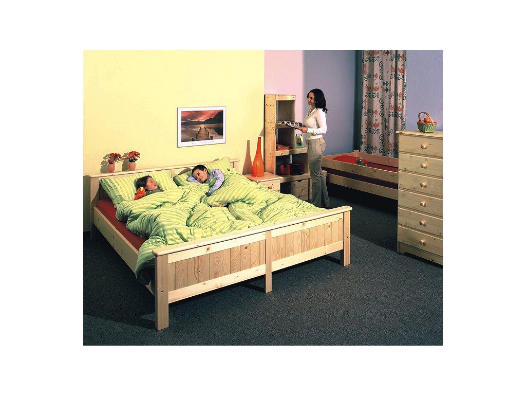 Gazel ANNY postel 180 přírodní