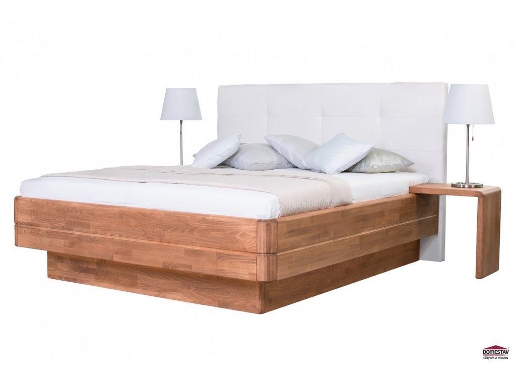 FANTAZIE GRANDE manželská postel čelo čalouněné 180 cm buk cink