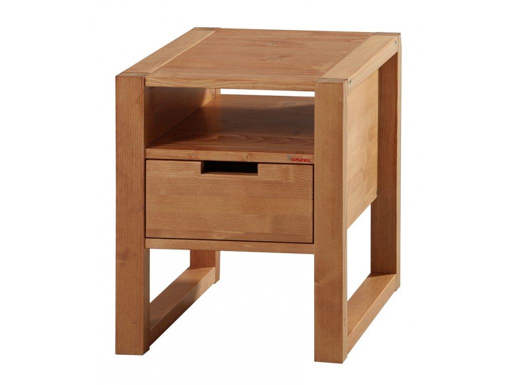 Gazel Rhino noční stolek oak