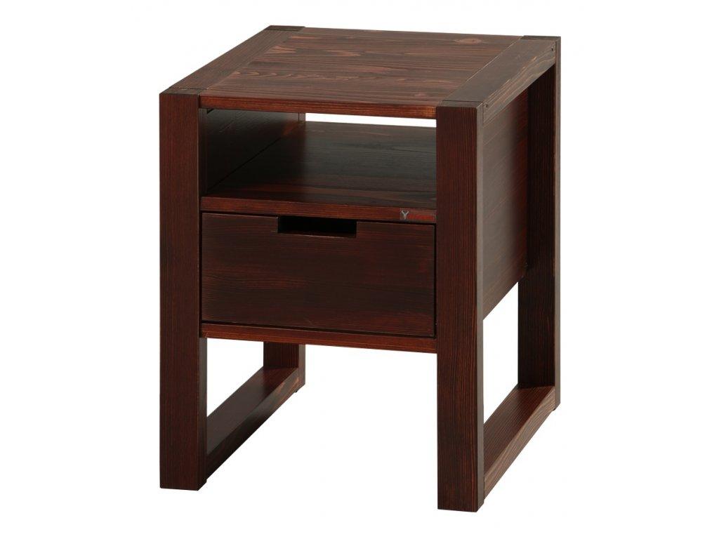 Gazel Rhino noční stolek brown