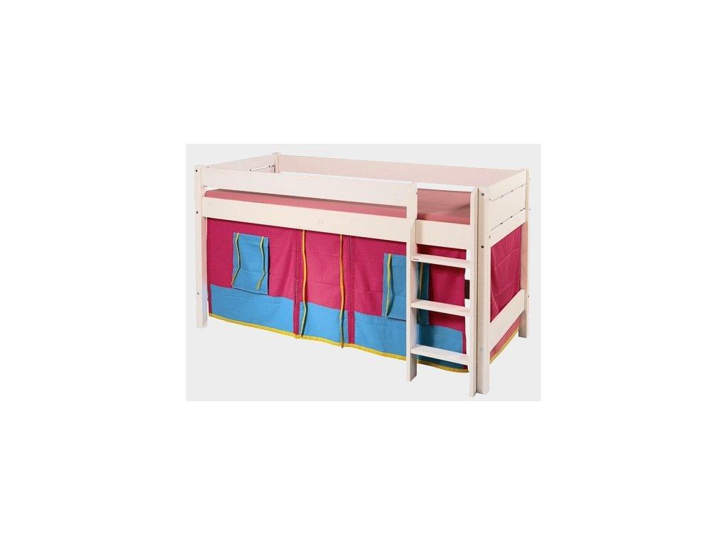 kátkový domeček ke zvýšené posteli Sendy