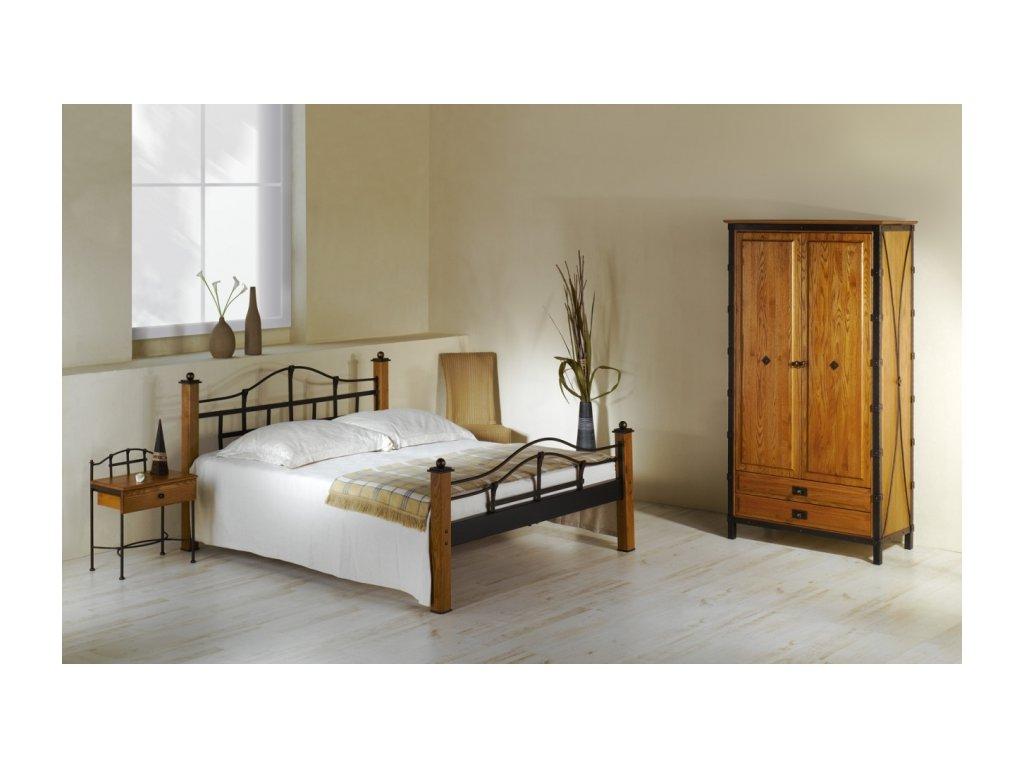 Iron Art ALCATRAZ kovaná postel