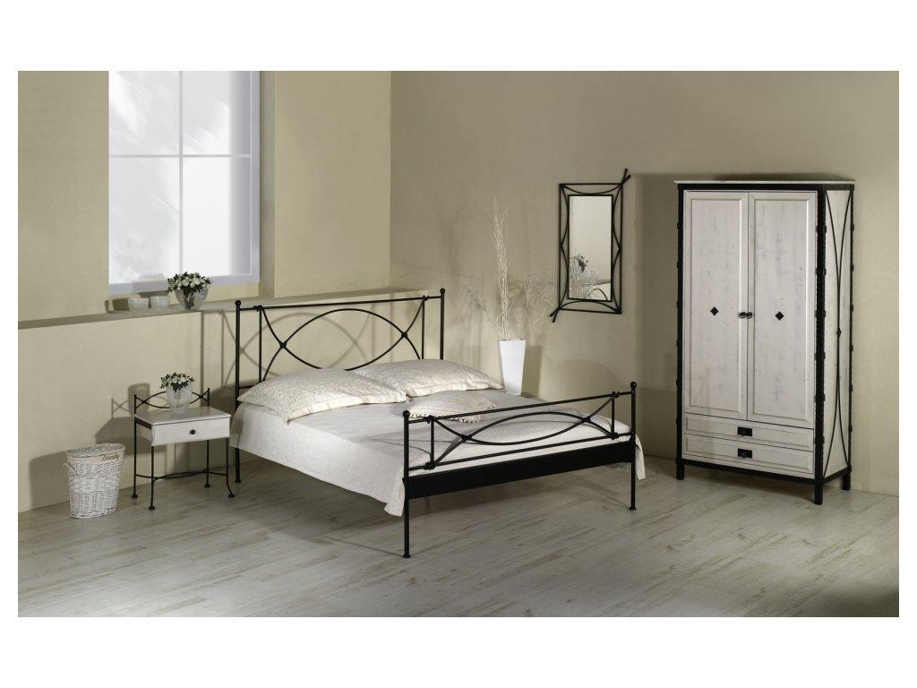 Iron Art THOLEN kovaná postel