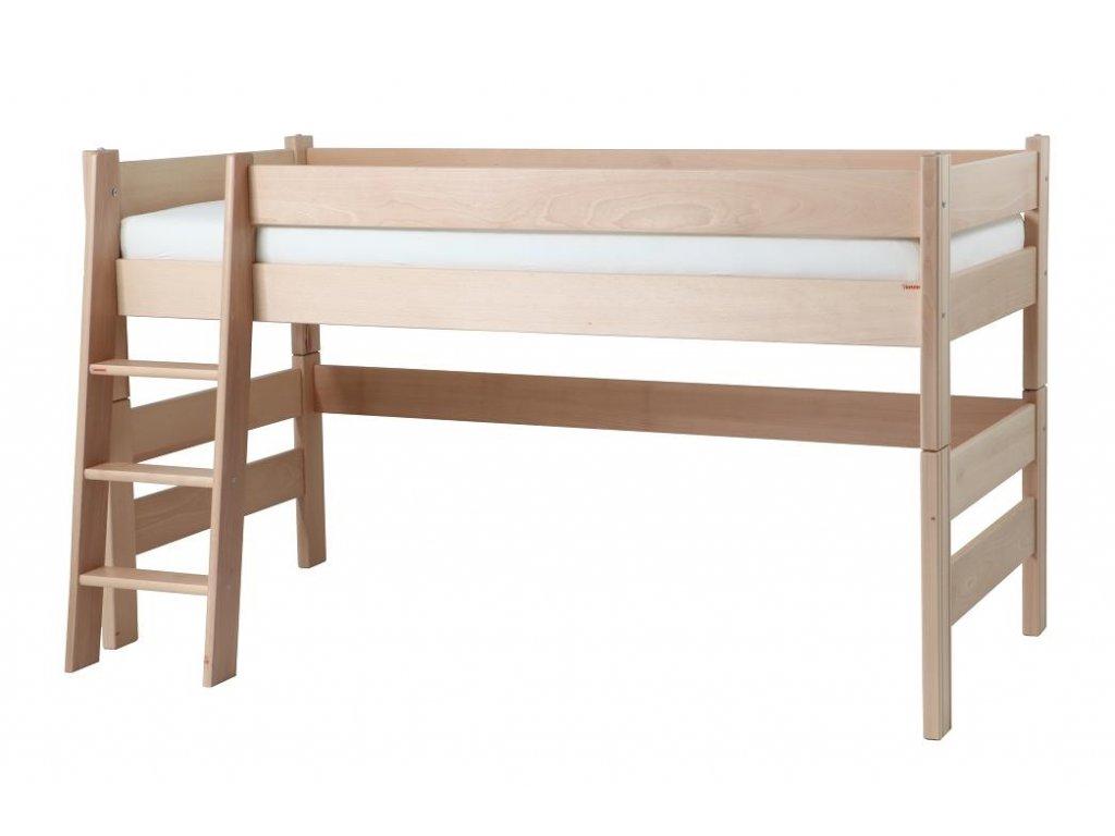 Zvýšená postel Gazel Sendy buk přírodní