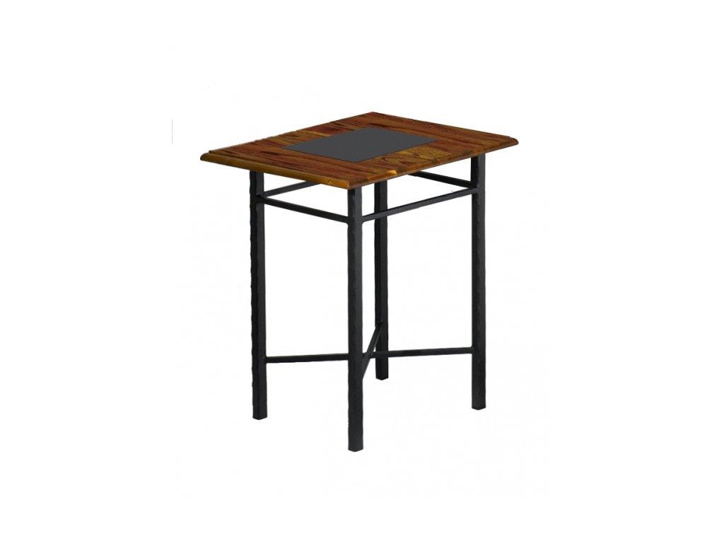 CHAMONIX kovový noční stolek