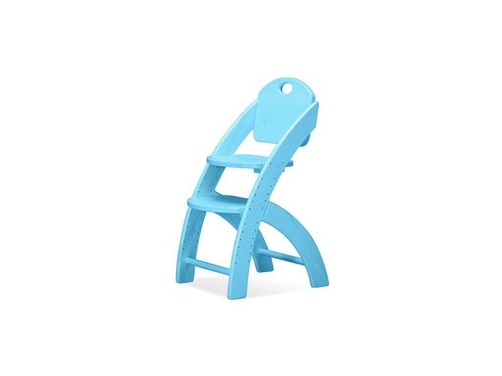 rostoucí židle tyrkysová