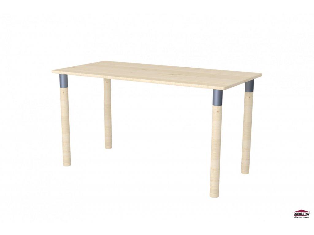 Dřevěný psací stůl Maxi smrk