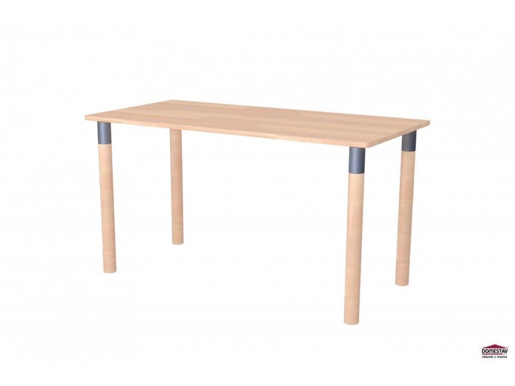 Dřevěný psací stůl Maxi buk