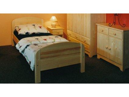 gazel drevena postel berghen 90 senior c 190 prodlouzena 220cm original[1]