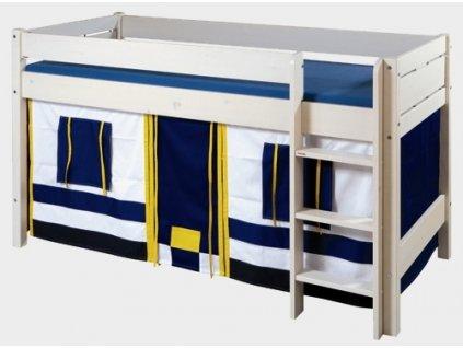 Gazel domeček pod vyvýšenou postel - modrý