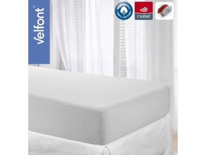 Velfont Outlast termoregulační prostěradlo 200x200 cm