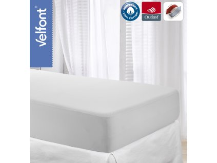Velfont Outlast termoregulační prostěradlo 180x220 cm
