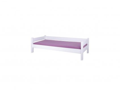 Gazel Sendy postel 90 x 200 cm buk bílá