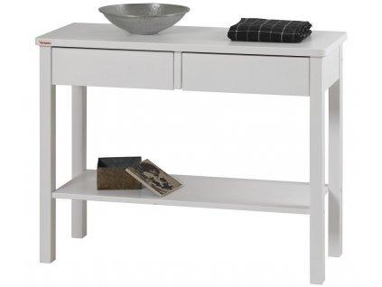 SWENG konzolový stolek - bílý