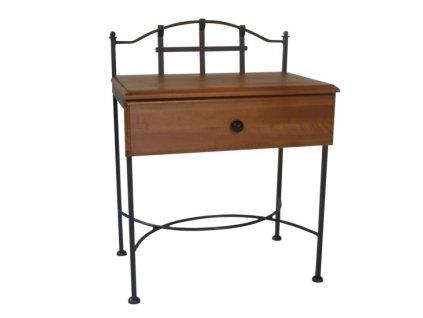 Noční stolek ALCATRAZ se zásuvkou