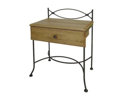 Noční stolek se zásuvkou THOLEN