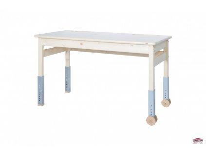 Dřevěný psací stůl Domino Smrk