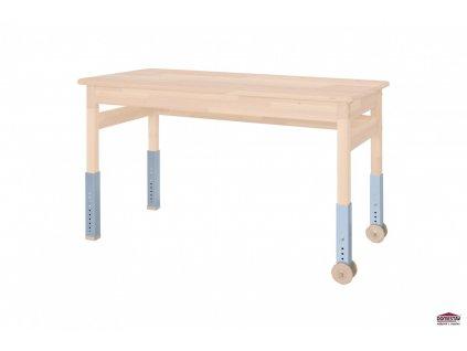 Dřevěný psací stůl Domino buk