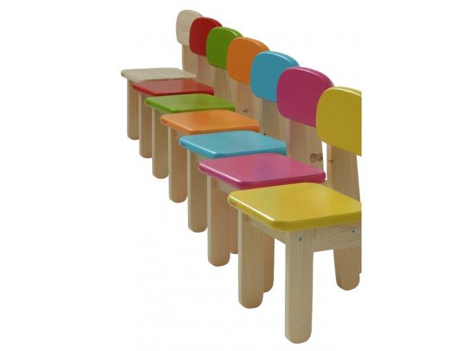 dřevěné dětské židličky puppi