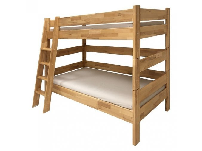 palanda etazova postel Sendy buk vyska 180 cm