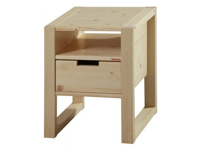 Gazel Rhino noční stolek - přírodní