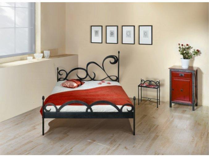 kovaná postel CARTAGENA