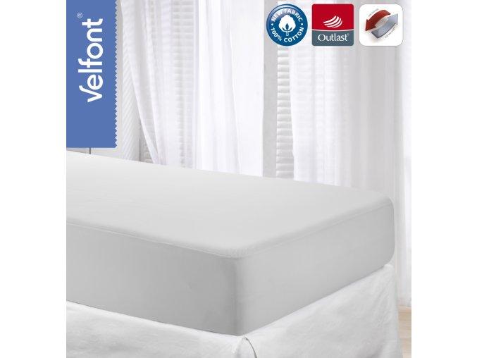 Velfont Outlast termoregulační prostěradlo 180x200 cm