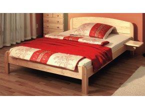 Gazel BERGHEN dřevěná postel N 180