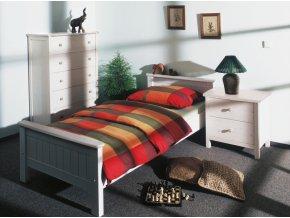 Gazel ANNY postel 90 bílá