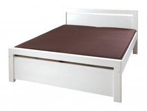 Gazel Rhino II. postel 160 - bílá
