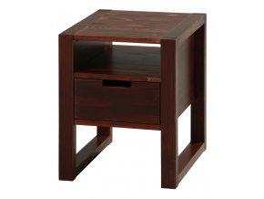 Gazel Rhino noční stolek - brown