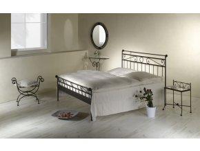 kovaná postel dvoulůžko Romantic