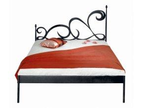 kovaná postel CARTAGENA kanape verze