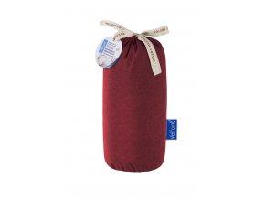 Velfont HPU Respira prostěradlo a matracový chránič 90x200 cm - burgundská červená