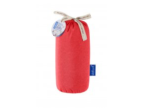 Velfont HPU Respira prostěradlo a matracový chránič 60x120x15 cm - korálově červená