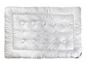 Klinmam Elegance Wellness přikrývka 200 x 200 cm - vysoce hřejivá