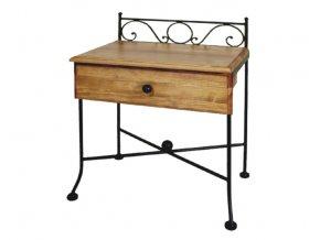 noční stolek se zásuvkou Romantic