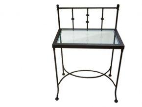 Noční stolek AMALFI se sklem