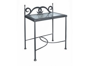 Noční stolek CARTAGENA se sklem
